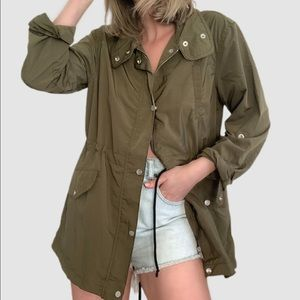 💙5/$30 Sanctuary Anorak Drawstring Trooper Jacket